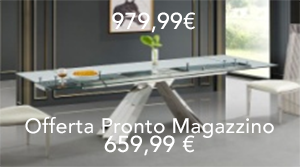 Offerte Tavoli Da Pranzo.Tavoli Tavolo Da Pranzo 13 1800 2500 X 900 X 750 Mm