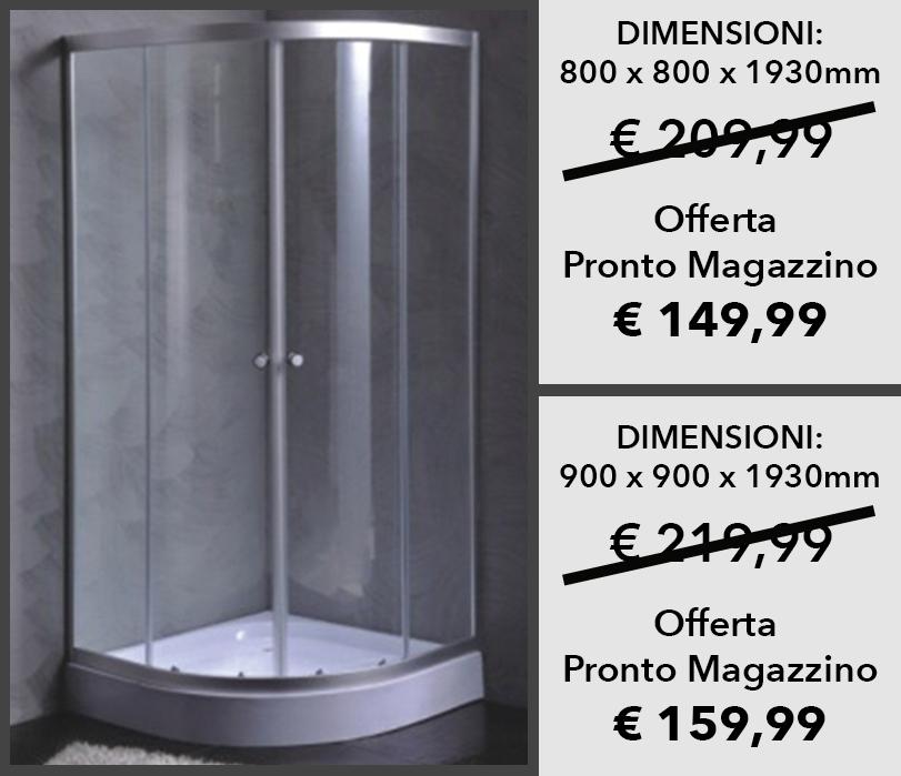 Cabina Doccia In Vetroresina.Cabina Doccia Life 800 X 800 X H 1930mm 900 X 900 X H 1930mm